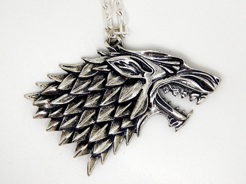 Show img stark geek necklace silver
