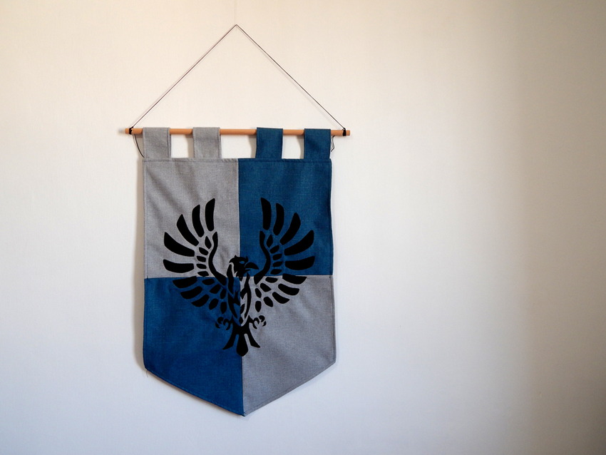 Show img ravenclaw banner hp geek home decor