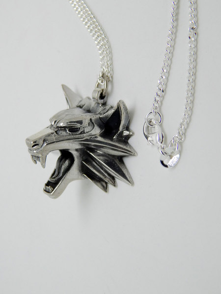 Index img the witcher medallion sterling silver 925 gaming