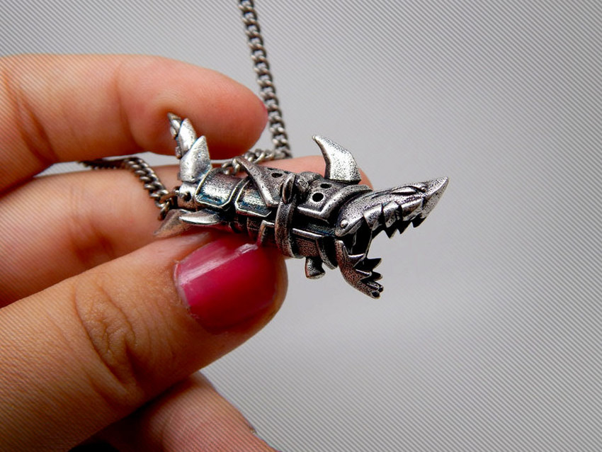 Show img jinx necklace league of legends lol gaming items gift