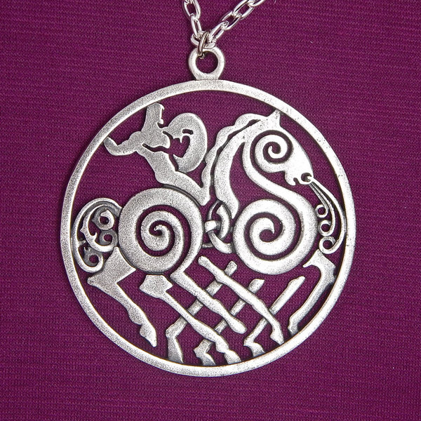 Index img sleipnir odin necklace