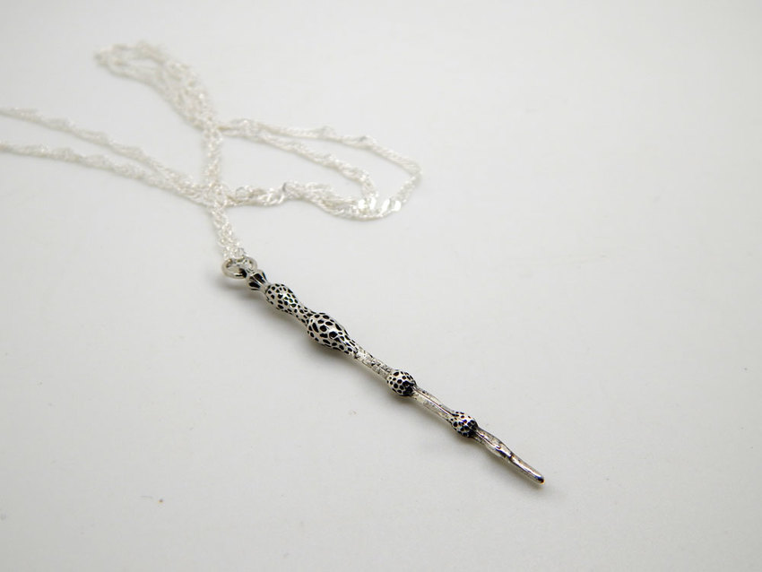 Show img elder wand necklace harry potter 005