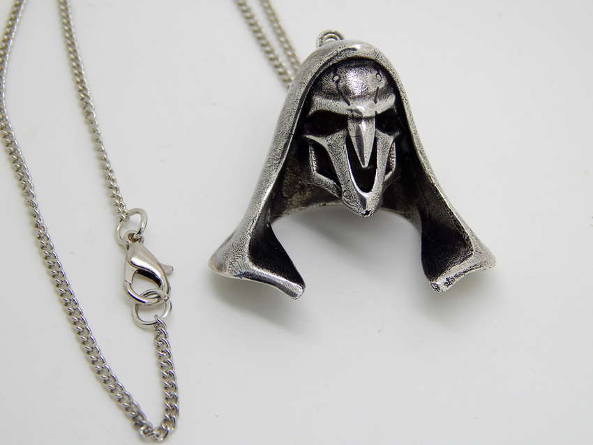 Show img overwatch reaper necklace ow blizzard pendant
