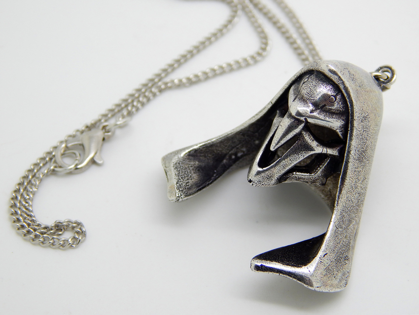 Show img overwatch reaper chain gamer jewelry skull necklace